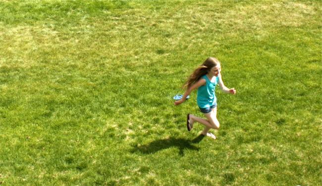 When Your Daughter Runs Circles Around the Boys