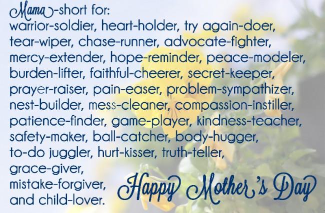 For the Mamas and Mama-Mentors {Free Printable!}
