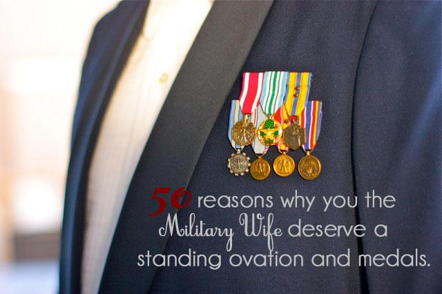military wife love