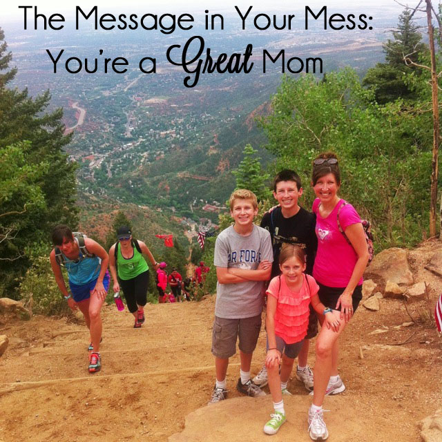 3 Reasons Why Your Mess Makes You a Great Mama