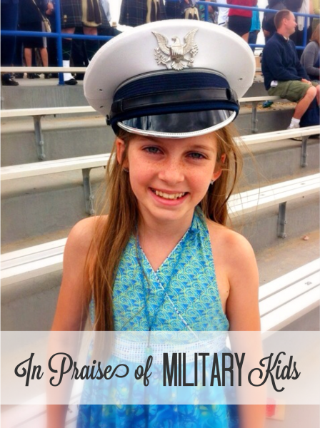 In Praise of Military Kids