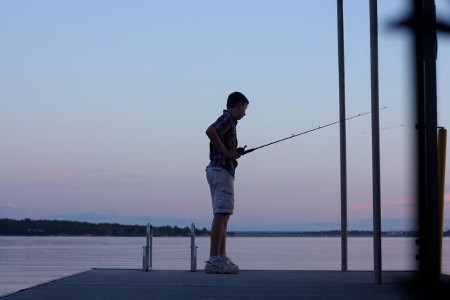 07192014_KristenStrong_silhouetteboyfishing