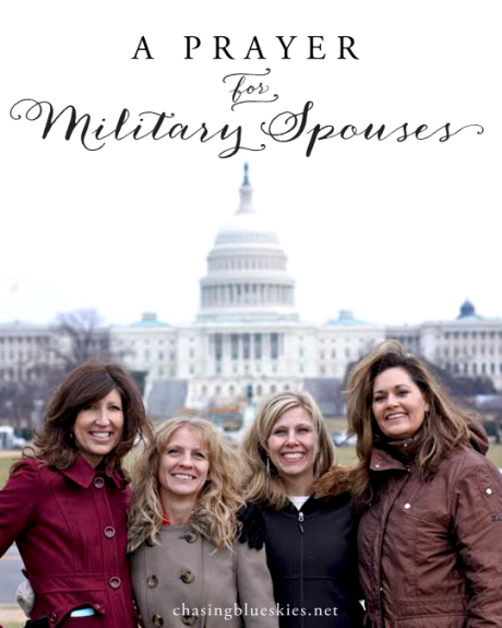 A Prayer for Military Spouses