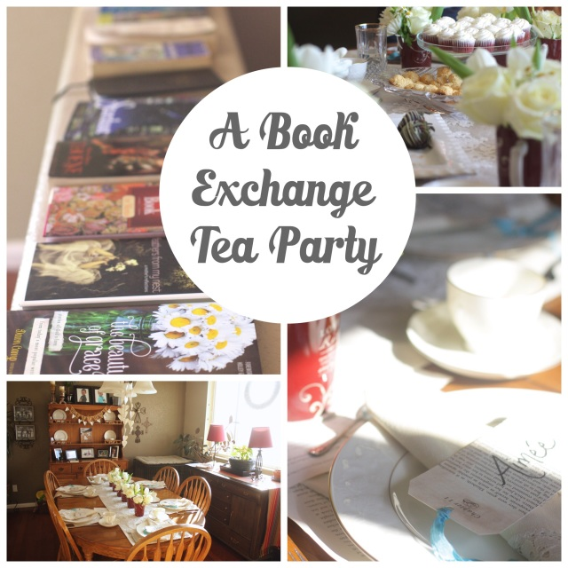 A Book Exchange Tea Party