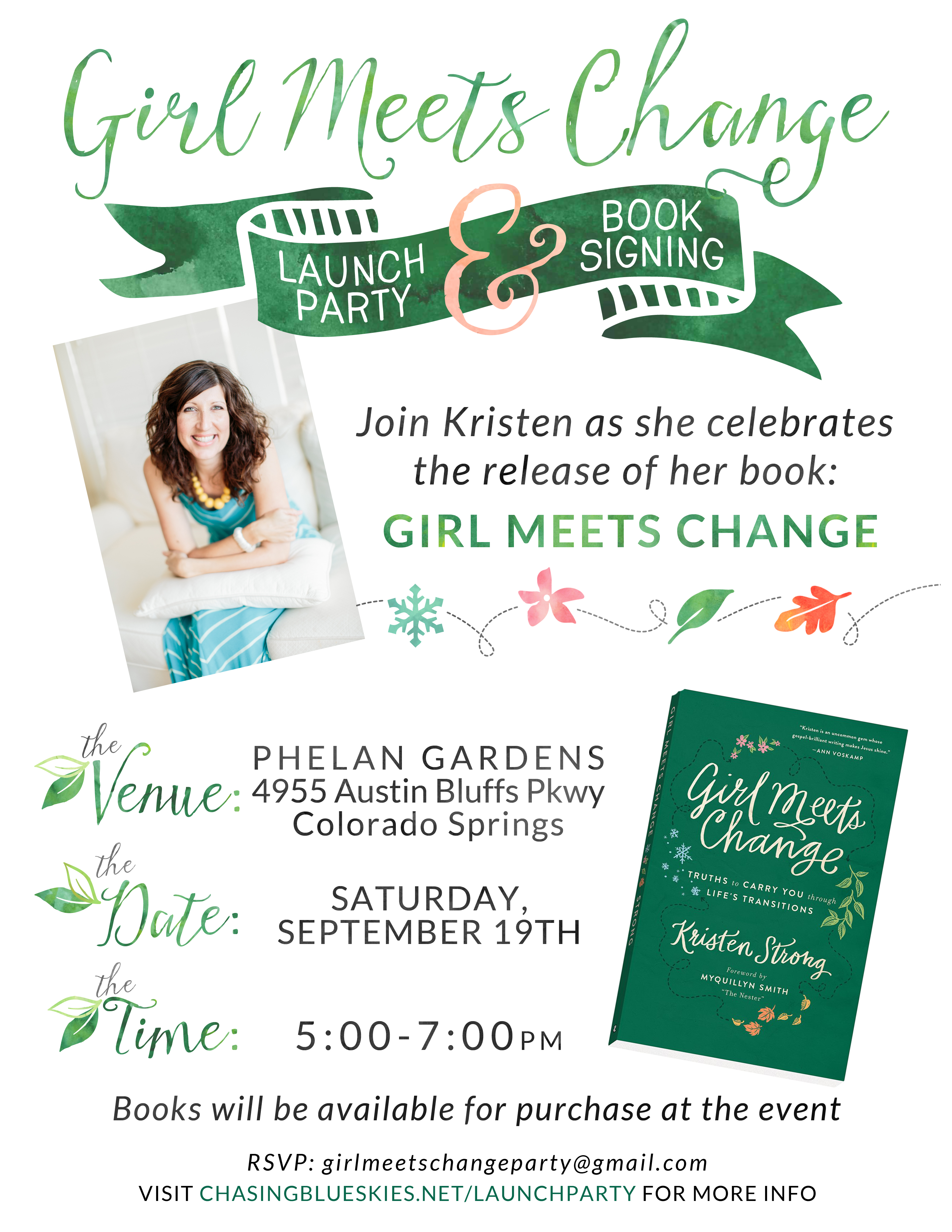 You're Invited to My Book Launch Party!