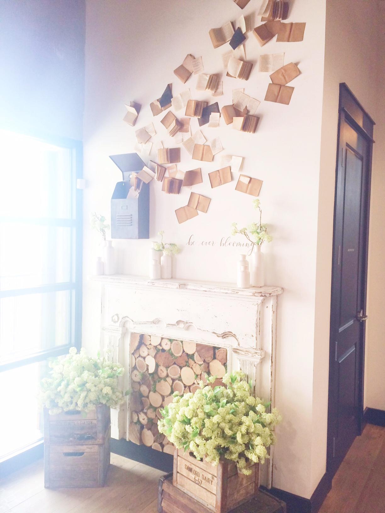 Magnolia Fireplace