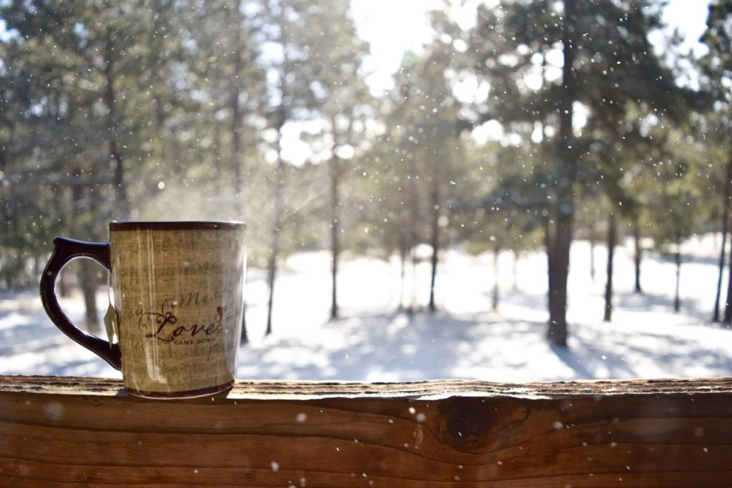 lovecamedown_coffeemug_snow