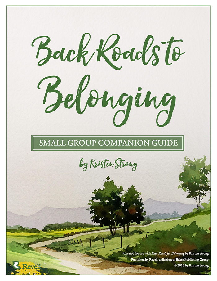 Back Roads to Belonging Small Group Companion Guide