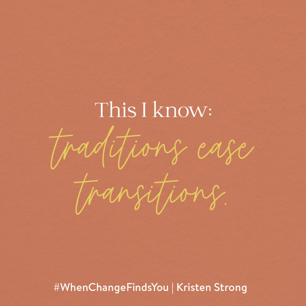 When Change Finds You